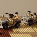 Lego Jeep Created in SolidWorks
