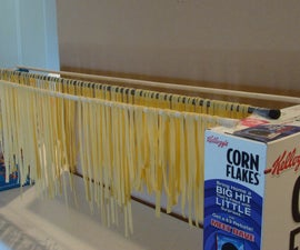 Incredibly Easy Pasta Drying Rack