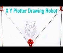 XY Plotter Drawing Robot | Arduino | Polargraph
