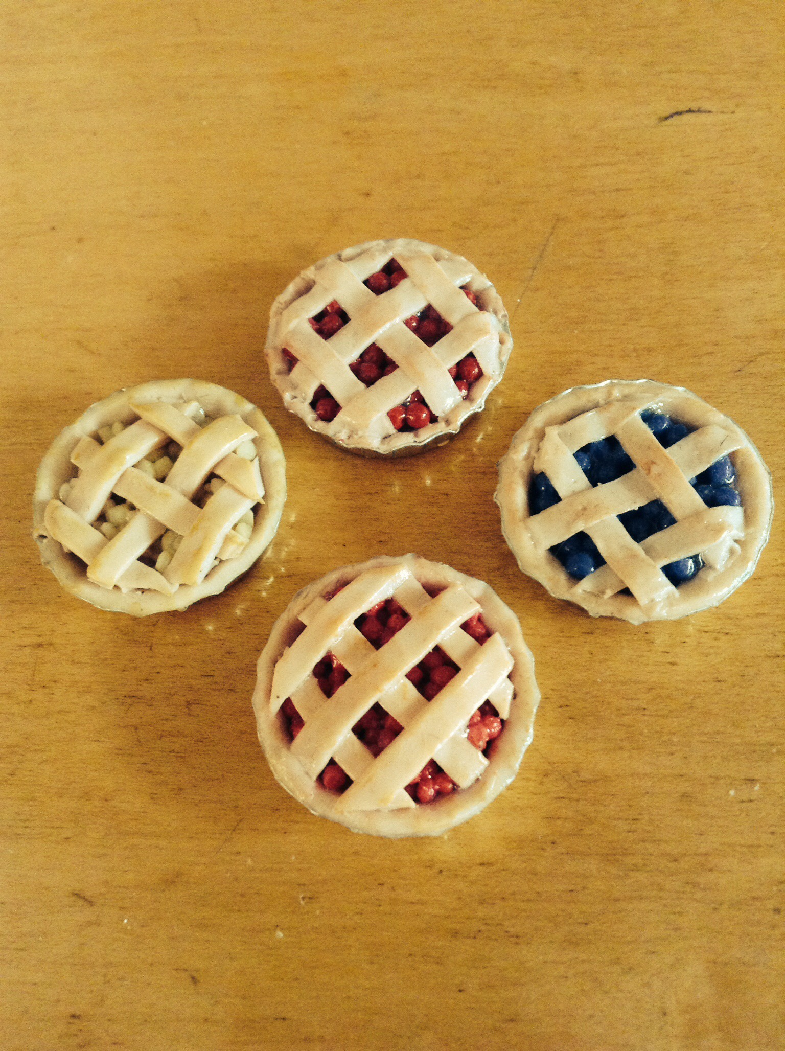 Picture of DIY Easy Polymer Clay Pies!
