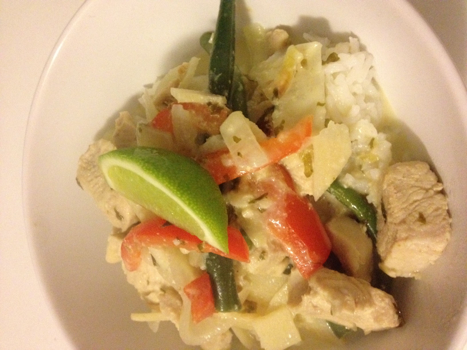 Picture of Frugal Food: Thai Green Chicken Curry