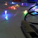 How to get more light out of a single strand of optical fiber attached to an LED