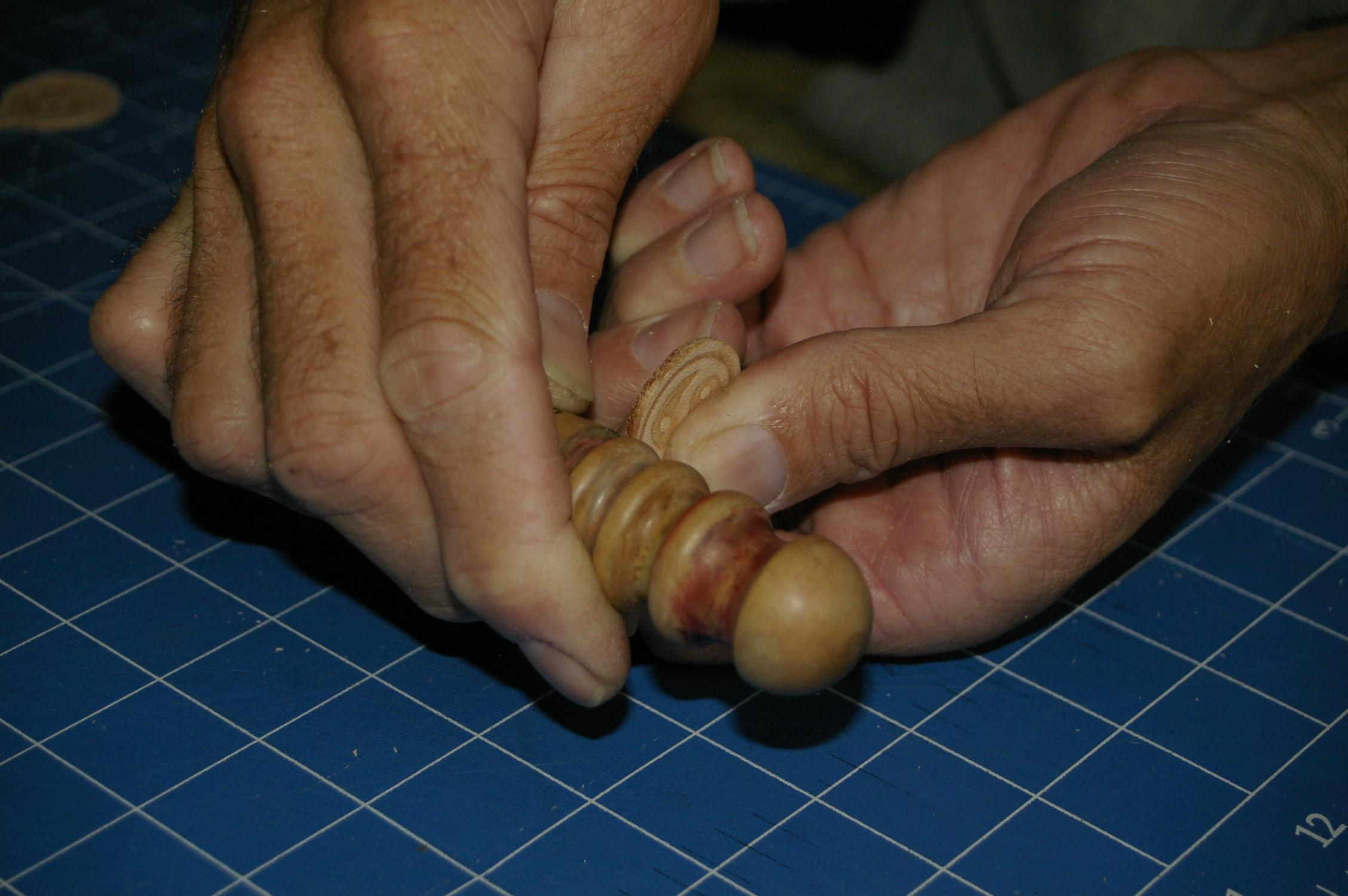 Picture of Burnishing the Edges