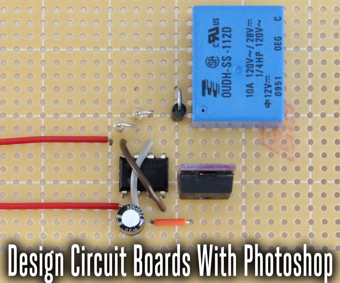 Design Circuit Boards Using Photoshop 10 Steps With Pictures Layer Board Maker For Micro Pcb Camera Buy