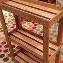 Rolling Cart(s) From Leftover Hardwood Flooring