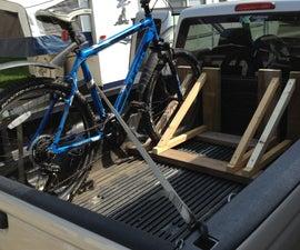 Wood Bike Rack