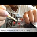 How to make a 6 peg amerastrand bracelet