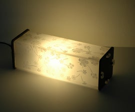 How to Make a Laser Cut Lamp