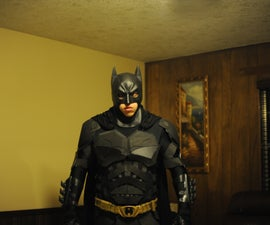 The Dark Knight Rises Batman Costume