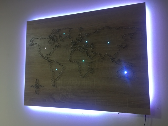 Picture of Glowing Continents