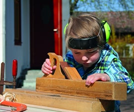 Woodworking With Children How To: Fox and Sheep playing board