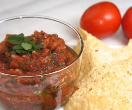 Fire Roasted Tomato Salsa