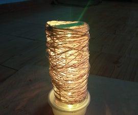 The Mummy Lamp - WiFi Controlled Smart Lamp