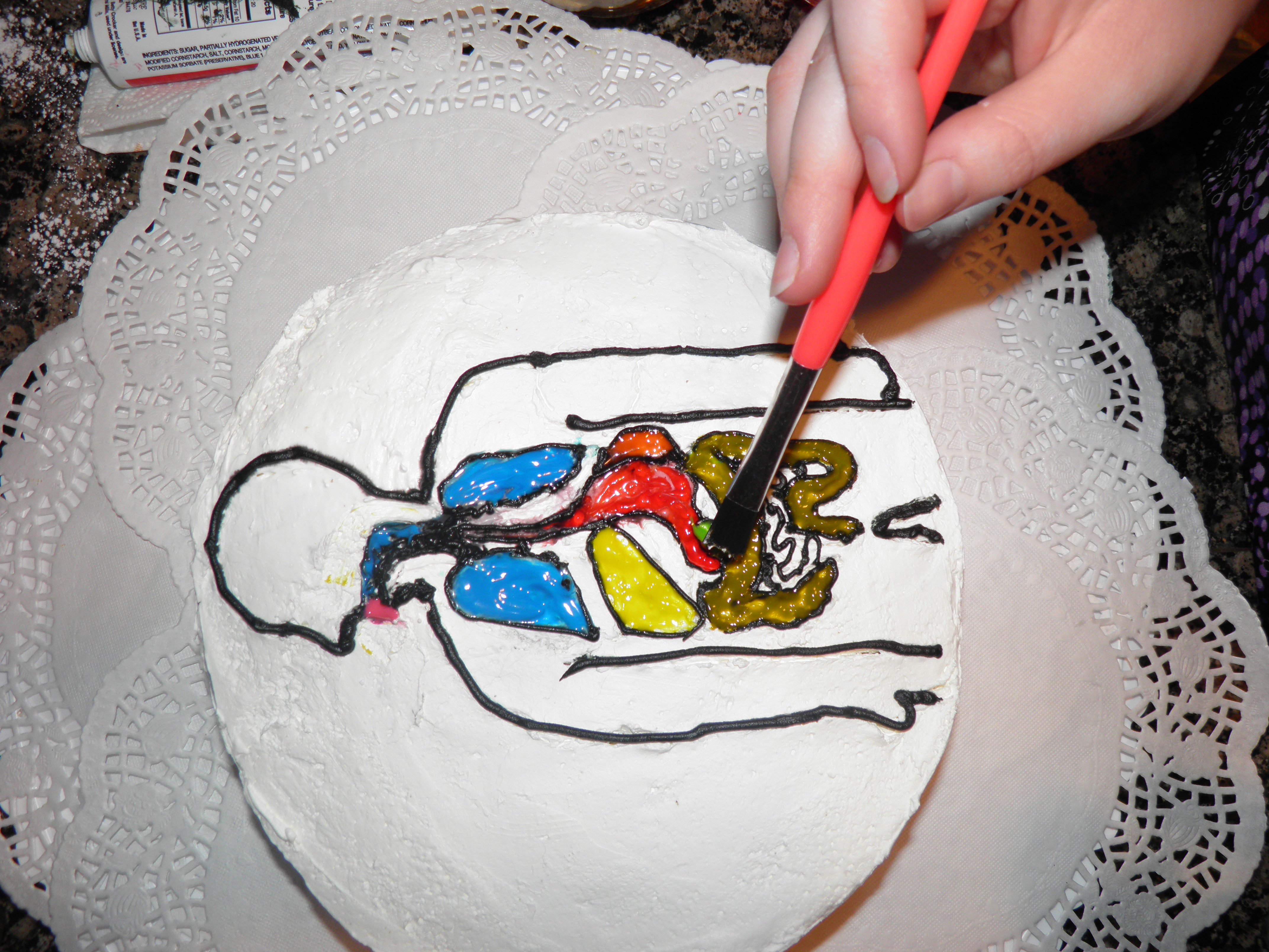 Picture of Digestive System Cake!