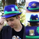 DIY Sonic the Hedgehog Hat