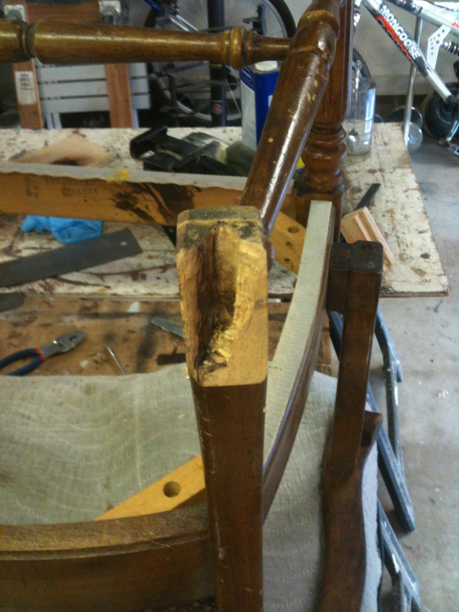 How to Fix a Broken Chair Foot : 8 Steps - Instructables