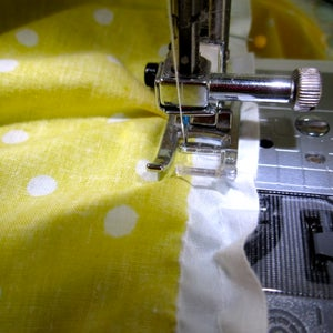 Sew the Skirt to the Tabletop