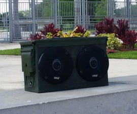 Ammo Can Boombox Engineering