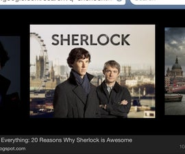 BBC Sherlock Costume