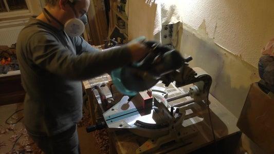 Rough Cutting the Frame