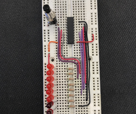 Light Sequencer Using Assembly & Microchip PIC16F690