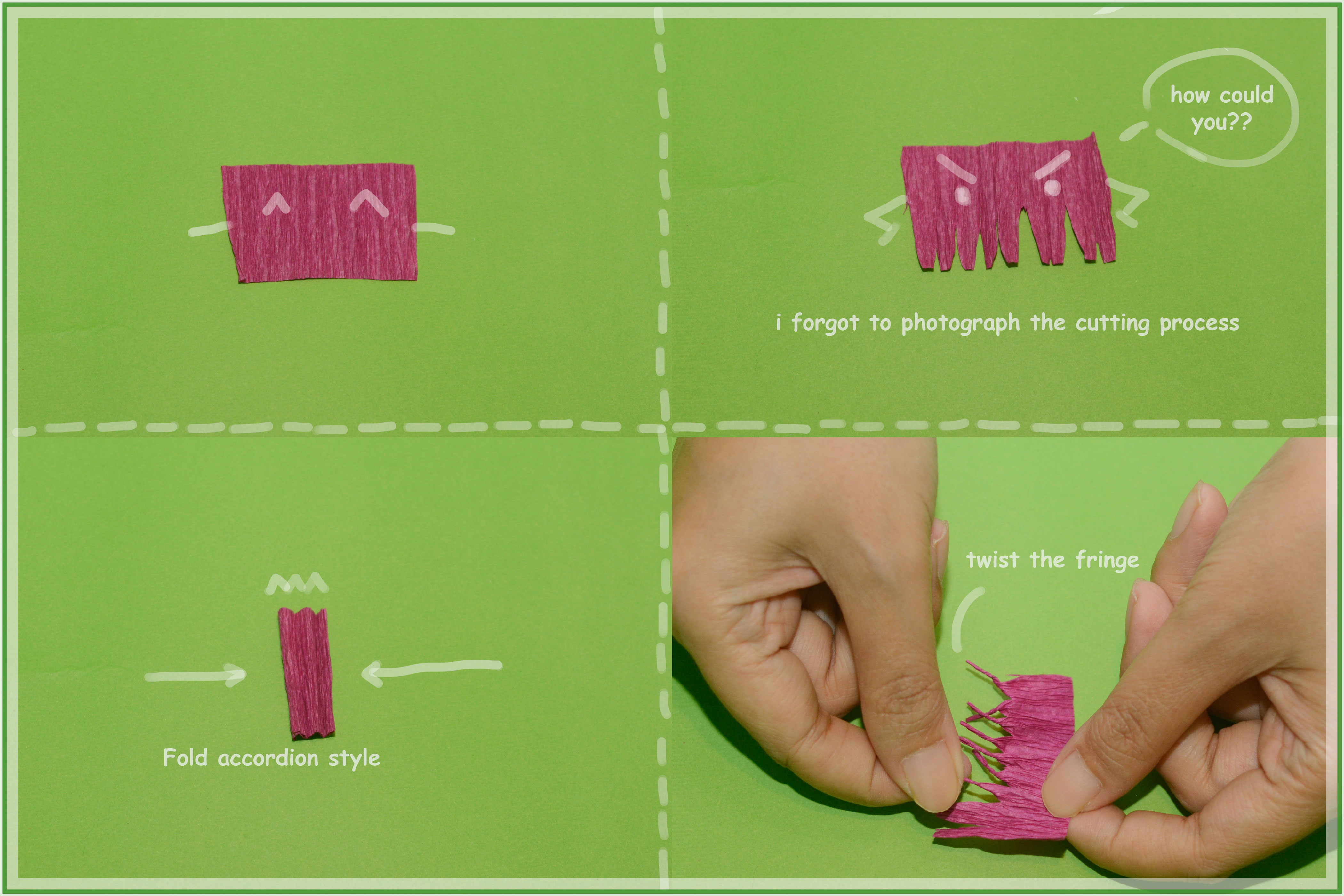 Picture of Cutting Shape for Flower's Center