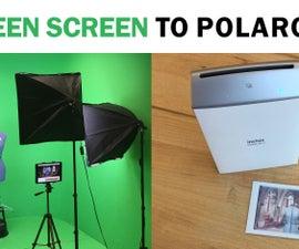 Green Screen to Polaroid