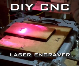 CNC Laser Engraver with GRBL and Arduino