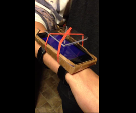 Portable Holographic Displayer (Holo-Watch)