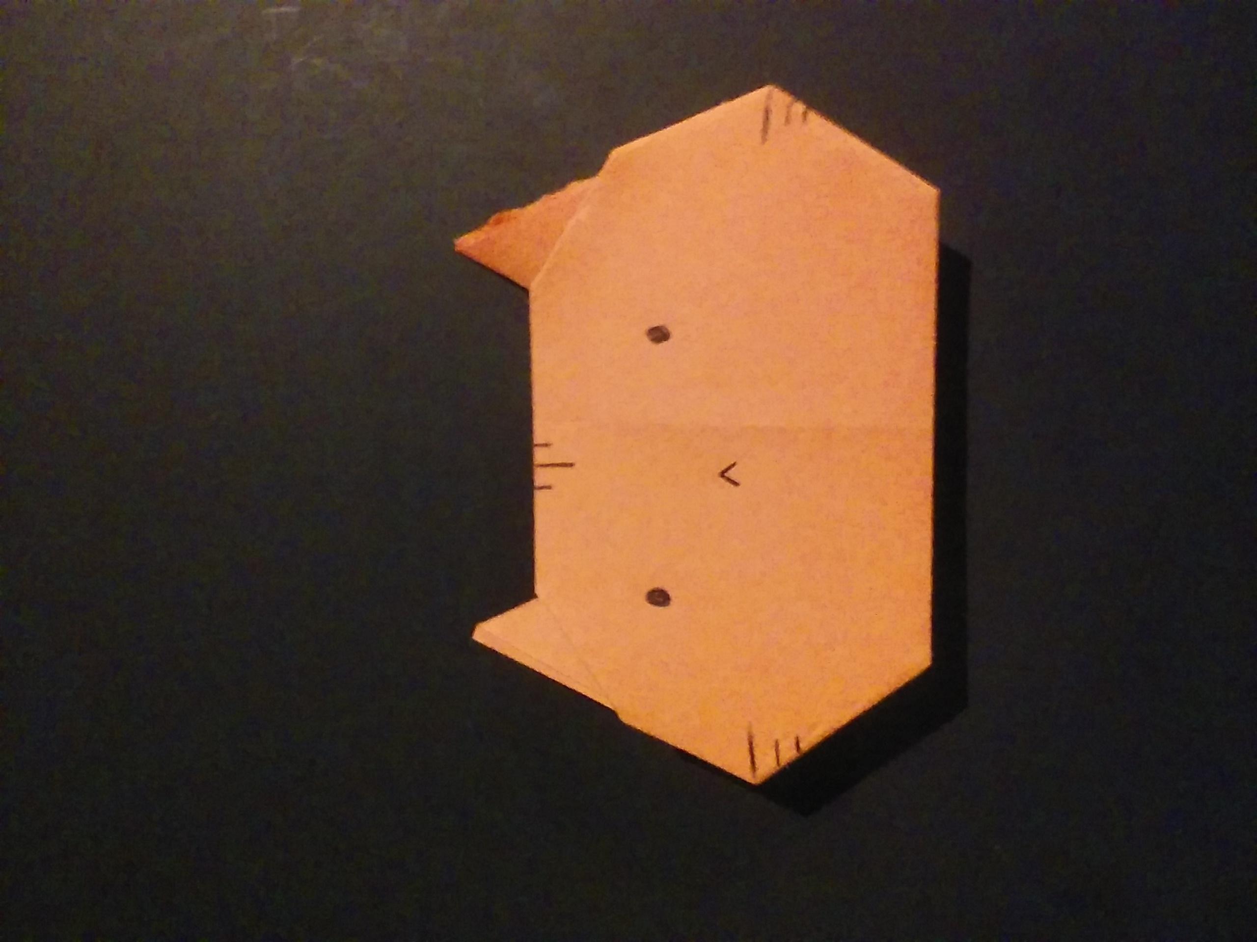 Picture of Origami Cat
