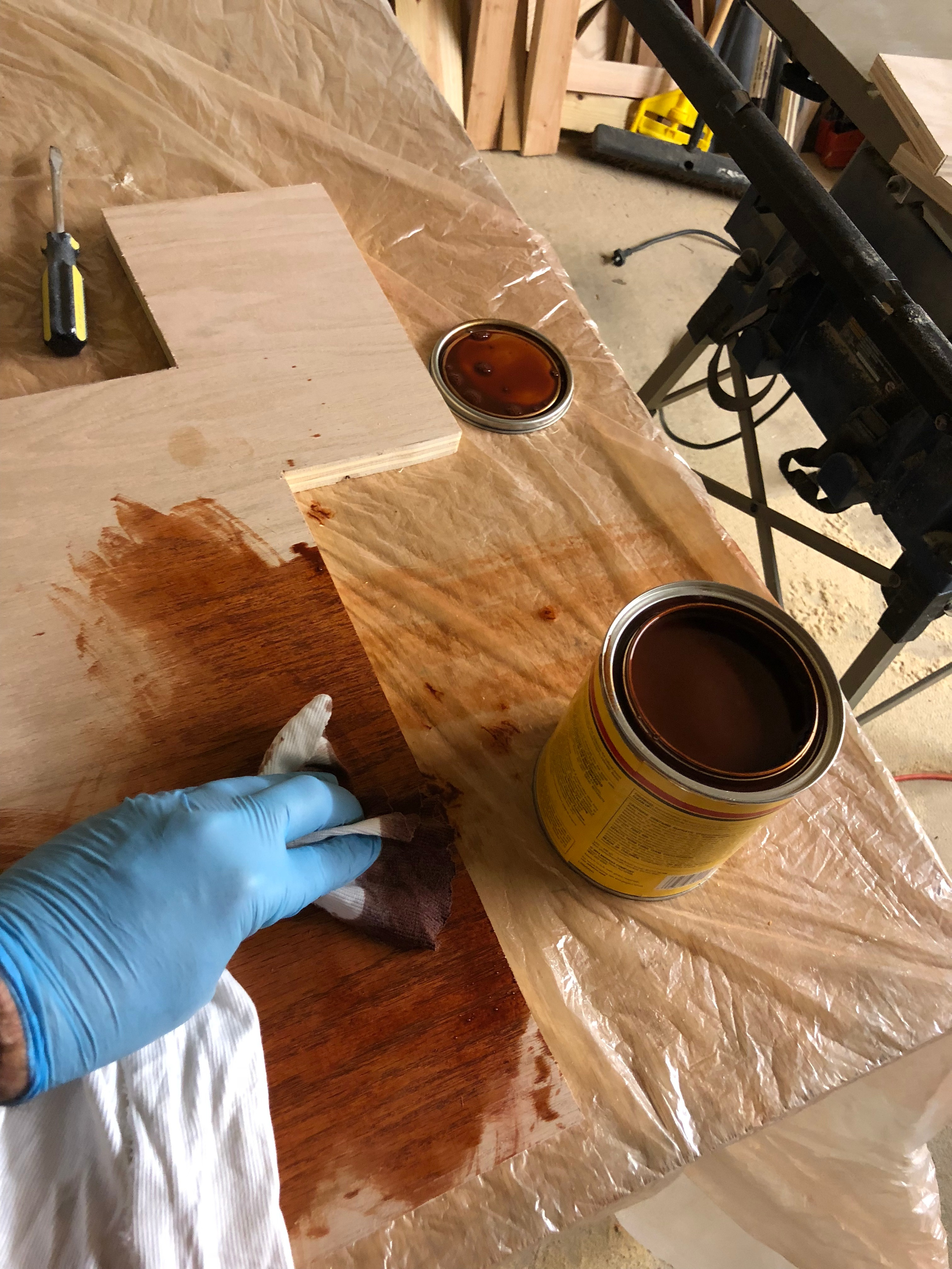 Picture of Stain Outer Boards