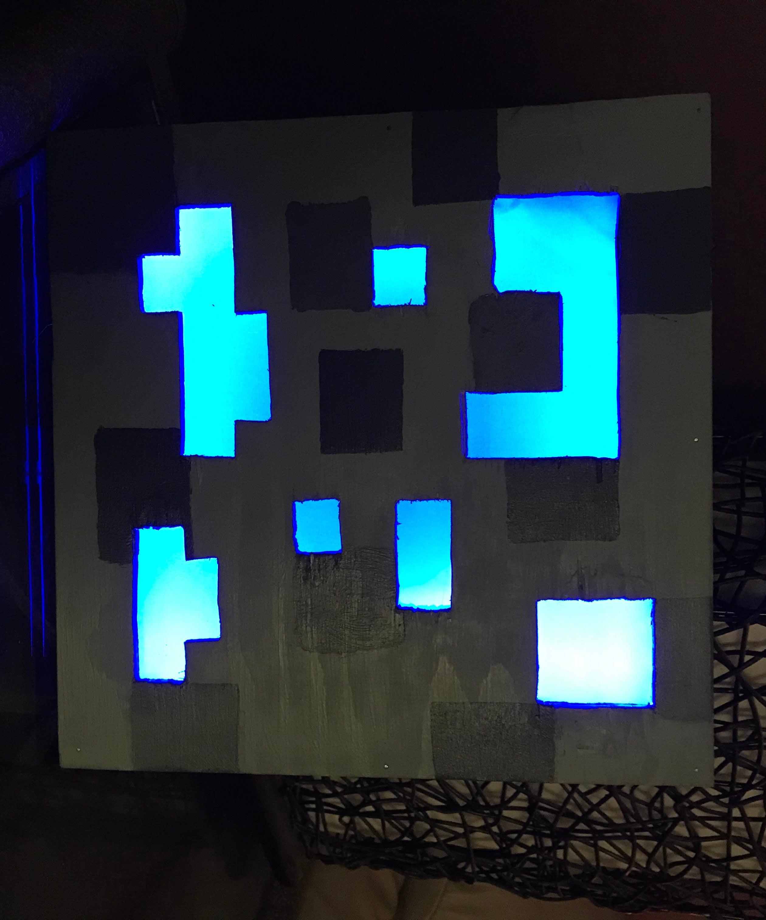 Minecraft Ore Lamp