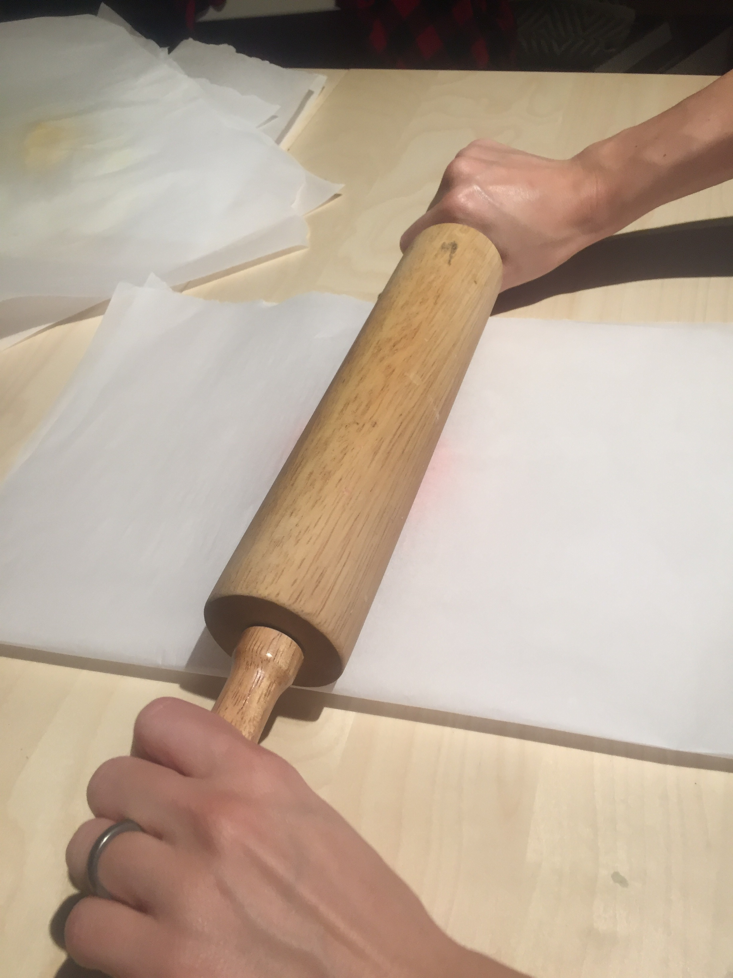 Picture of Rolling Dough Sheets