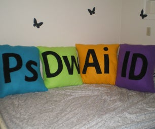 Adobe CS4 Icon Pillows
