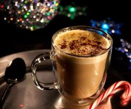 How to Make a Snowflake Latte