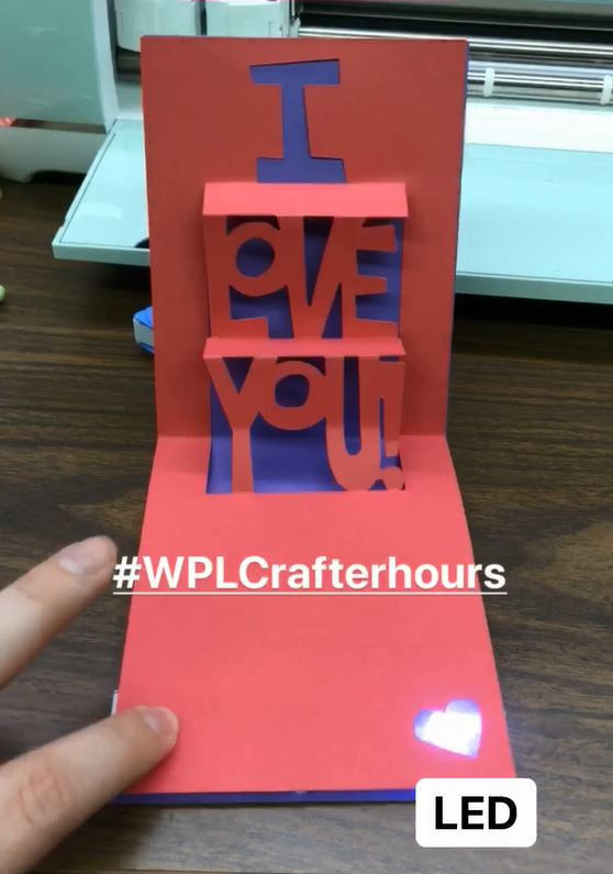 Picture of LED Valentine Card