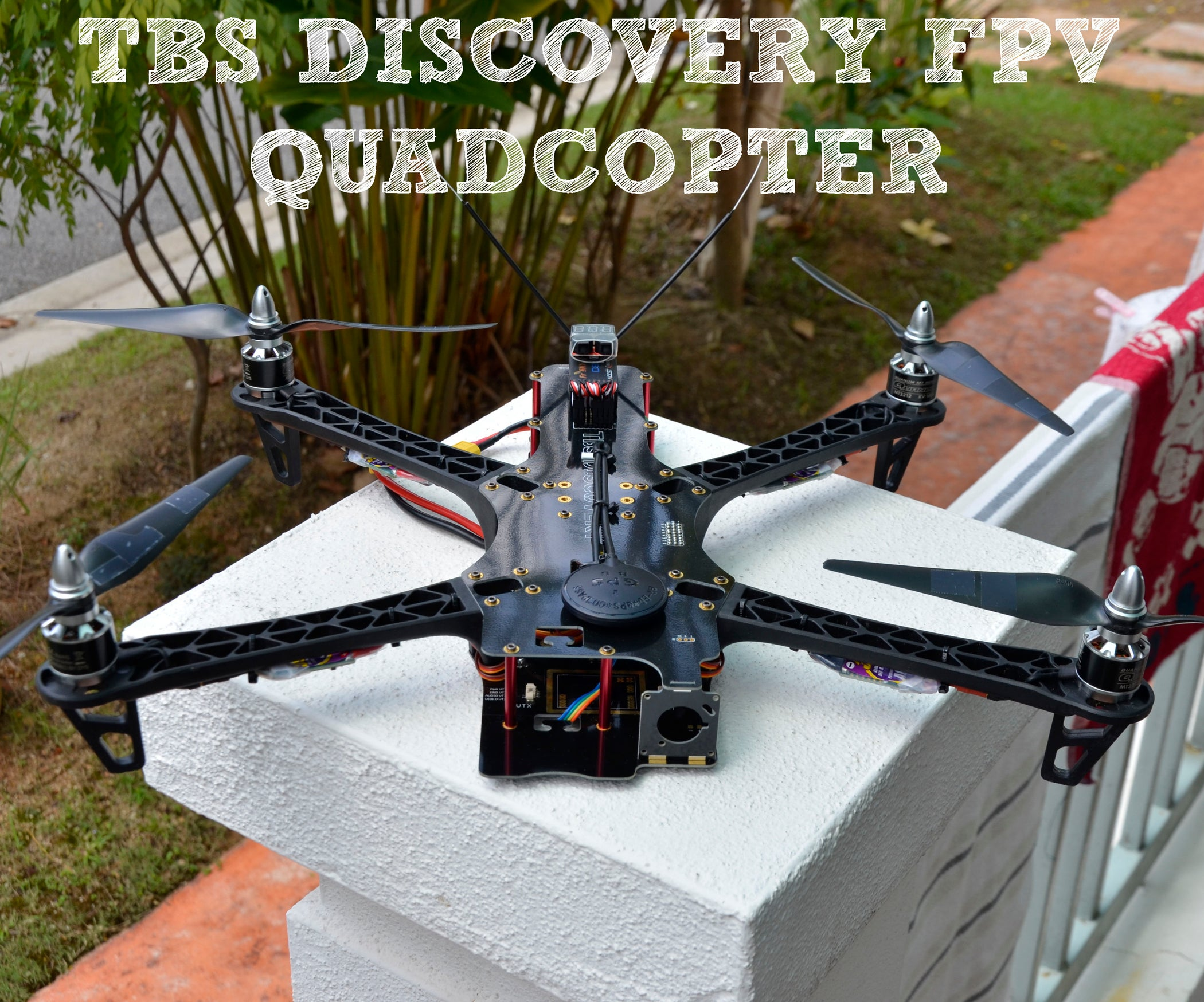 How To Long Range Fpv Quadcopter 13 Steps With Pictures Blade 450 3d Rc Helicopter Parts Diagram Free Engine Image For