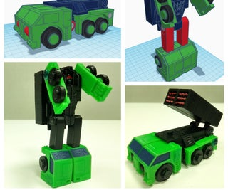Creating a Transformer With Tinkercad