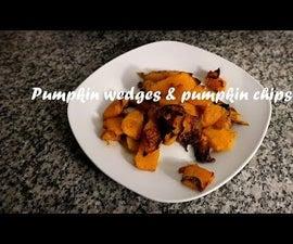 Pumpkin Wedges & Pumpkin Chips Recipe