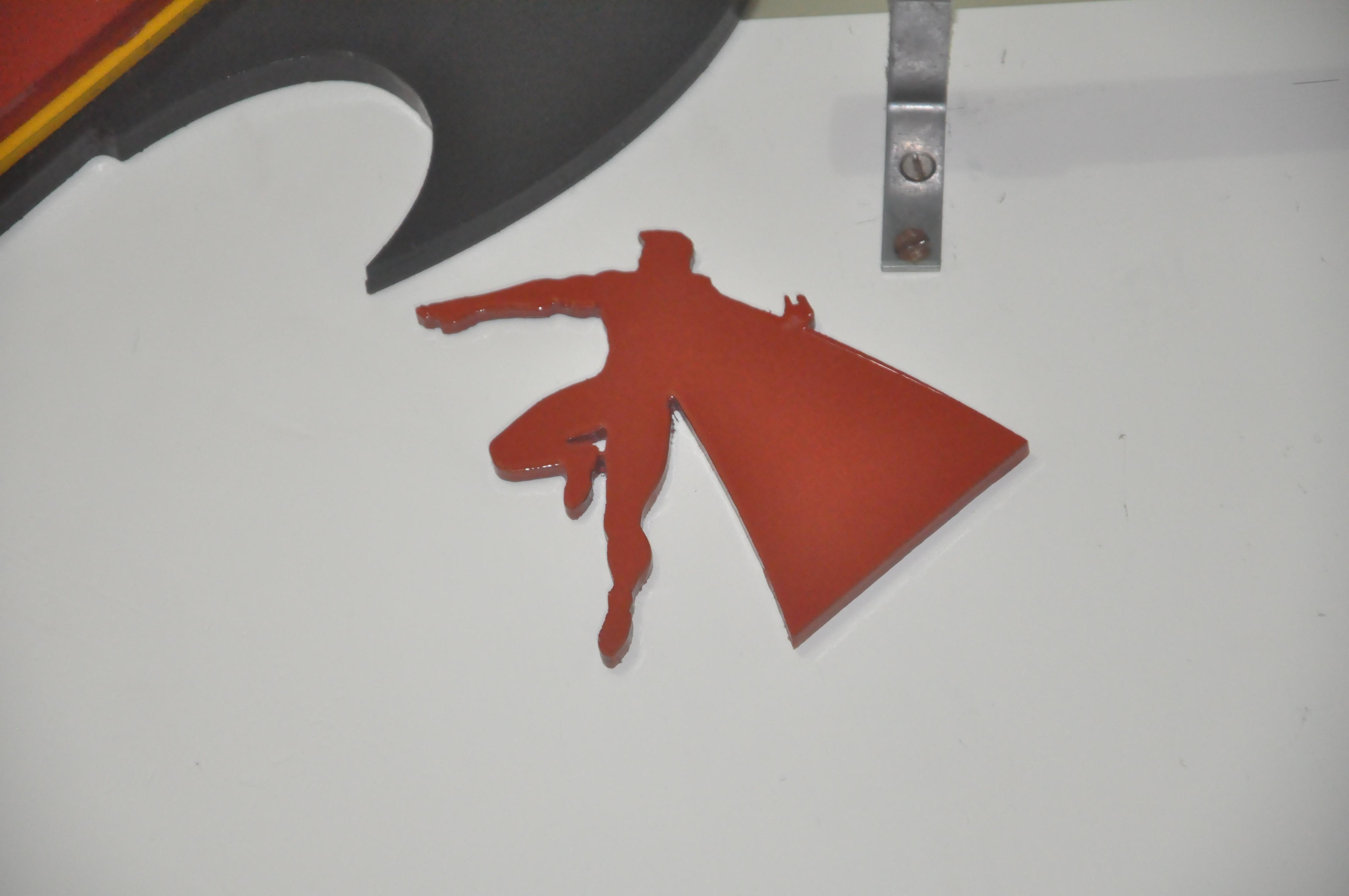Picture of Batman Vs Superman DIY Wall Clock