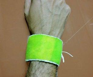 Tennis Bracelet From an Old Tennis Ball!