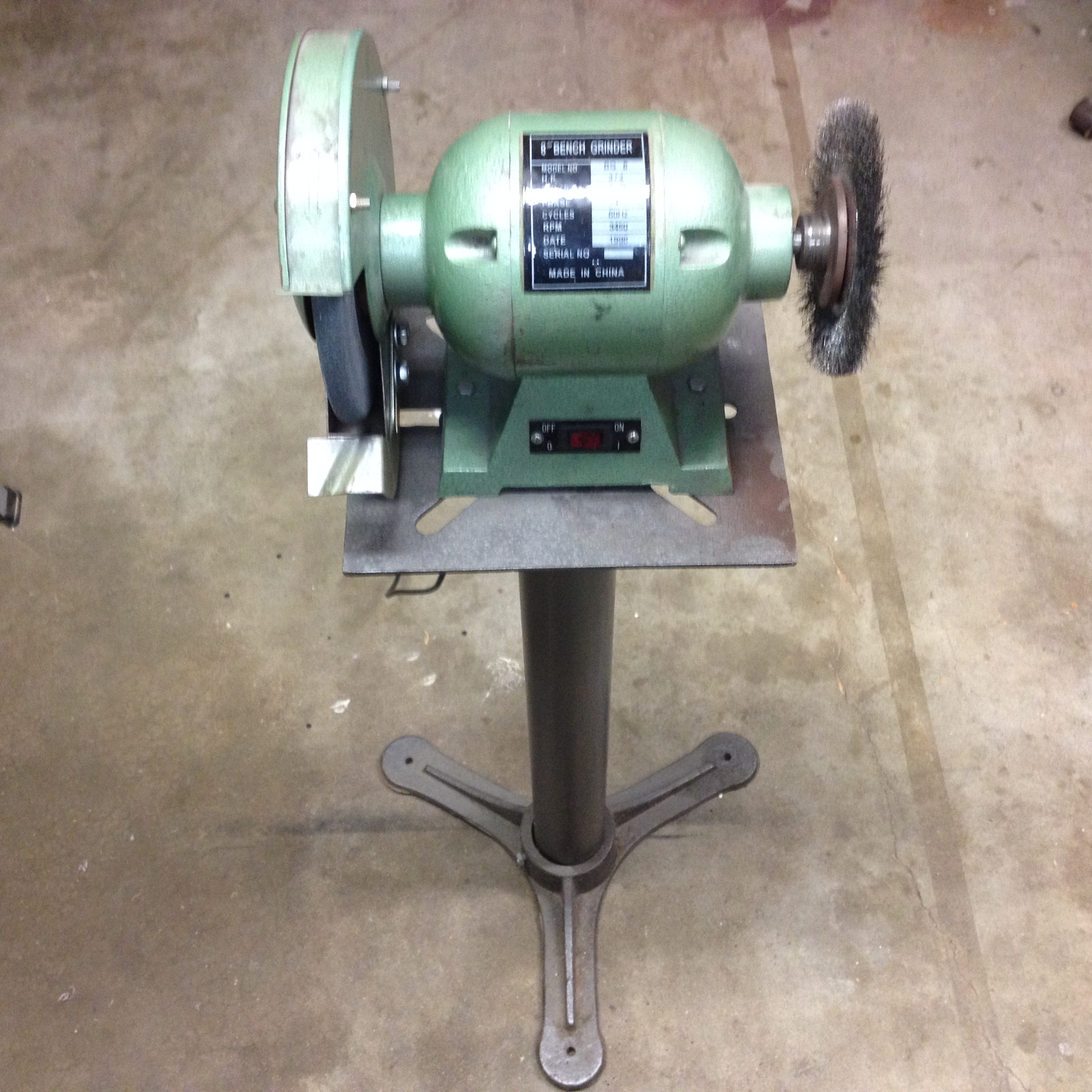 Picture of Vibration-free Grinder Stand