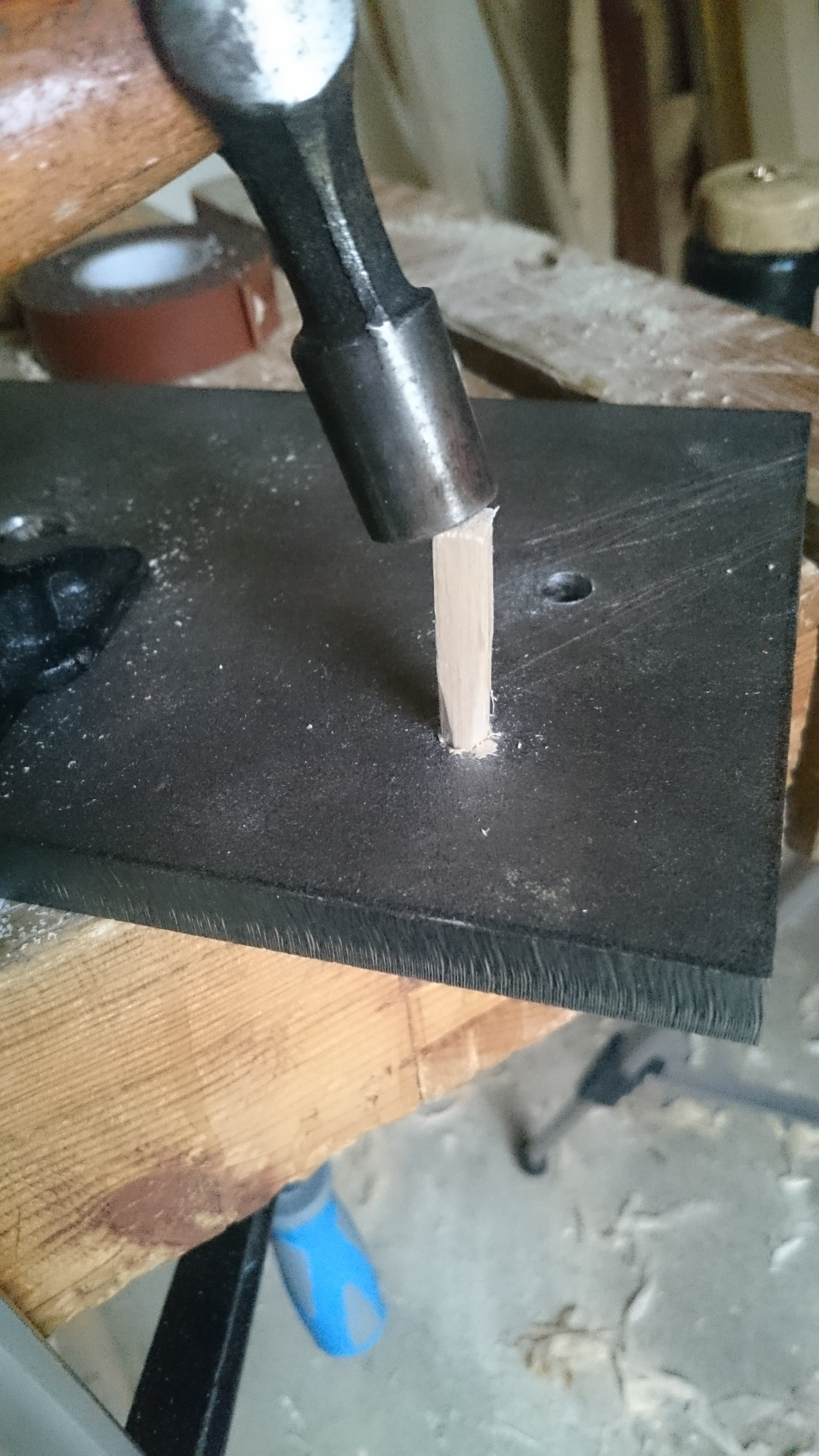 Picture of Making and Inserting the Dowels