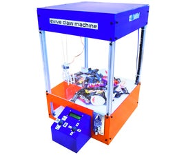 Candy Claw Machine - Arduino Based Arcade Game