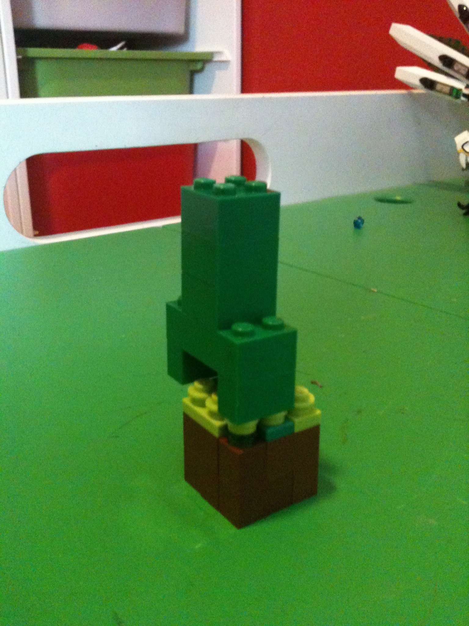 Picture of Lego Creeper