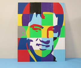 How to Make a Duct Tape Pop Art Portrait: The Full Monty (or rather Elvis)!