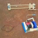 Prototype Grapple Hook, Gun, and Winch