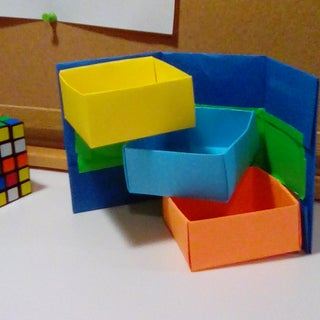 DIY Projects : How to Make an Origami Organizer