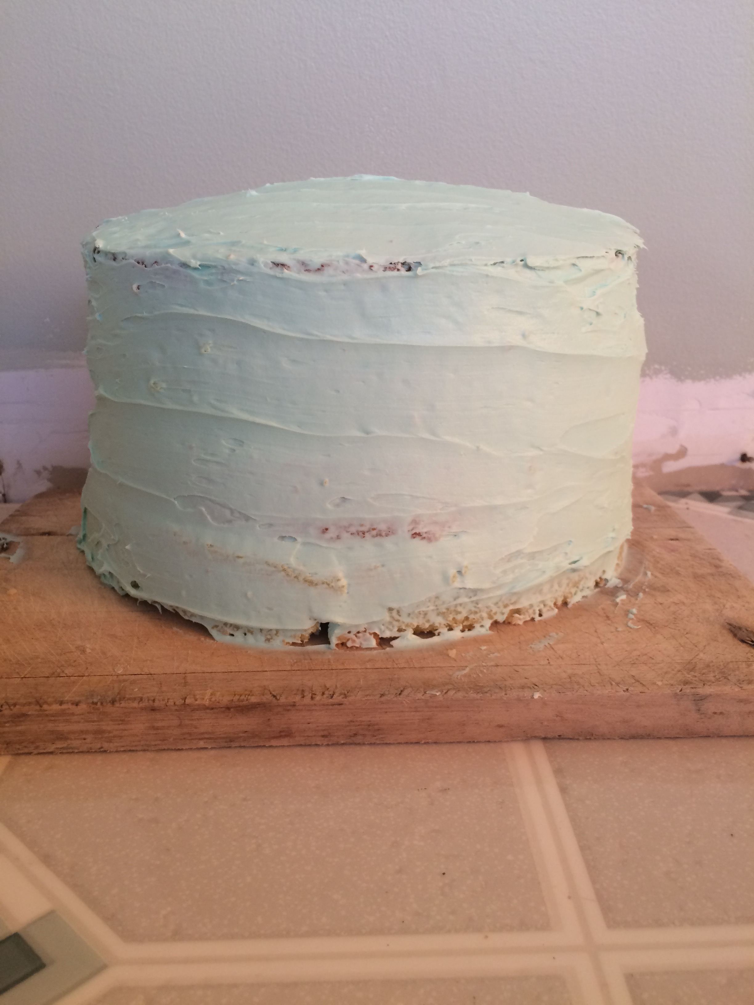 Picture of Ice Around the Whole Cake