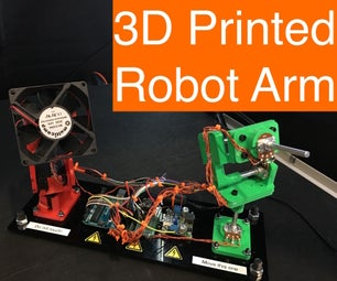 3D Printed Motion Replicator & Recorder Robot Arm for Hot Summer Days